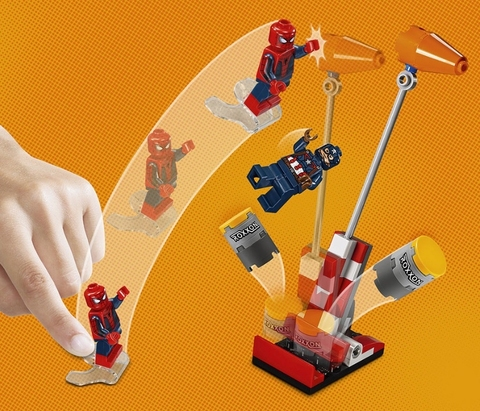 LEGO Super Heroes: Нападение на бензовоз 76067 — Tanker Truck Takedown — Лего Супергерои Марвел