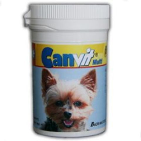 Canvit Multi Мультивитаминные таблетки для собак (100 шт)