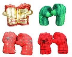 Супергерои Марвел перчатки мягкие — Gloves Superhero Plush