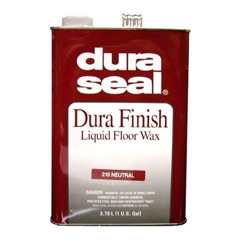 Dura Seal Finish Liquid Floor Wax масло-воск финишное