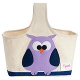Сумочка для хранения 3 Sprouts Сова (фиолетовый)