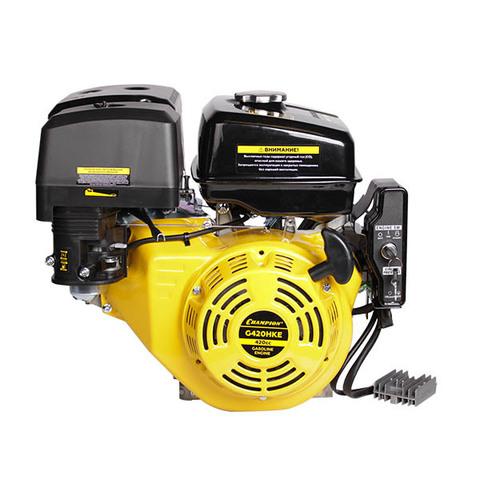 Двигатель CHAMPION G420HKE, с катушкой 7А и электростартером