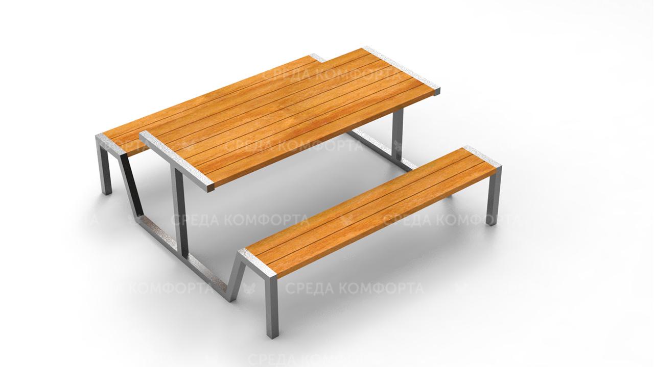 Скамейка со столом SCAM0240