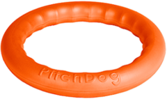 Игрушка для собак игровое кольцо для аппортировки d 20 оранжевое, PitchDog 20