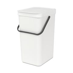 Встраиваемое мусорное ведро Sort & Go (16 л), Белый