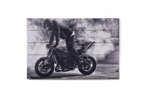 Картина на дереве Moto-moto
