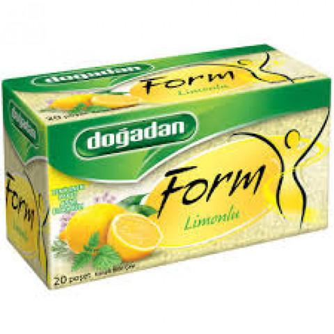 Çay \ Чай \ Tea Doğadan Form Limon (20 əd)