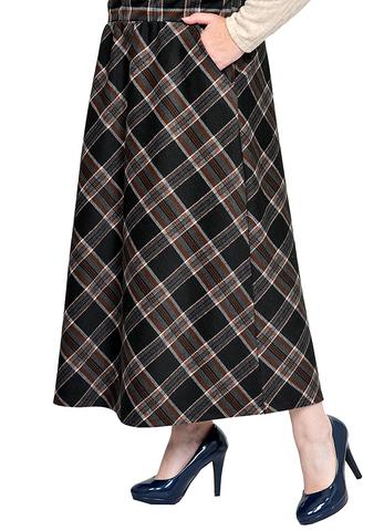 Тёплая юбка Тартан