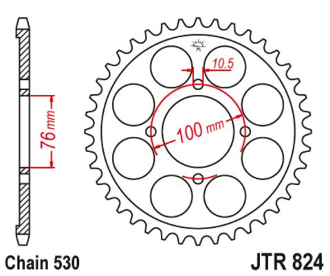 JTR824