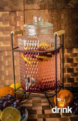 Диспенсер для напитков на подставке «Дружба», 4 литра, фото 1