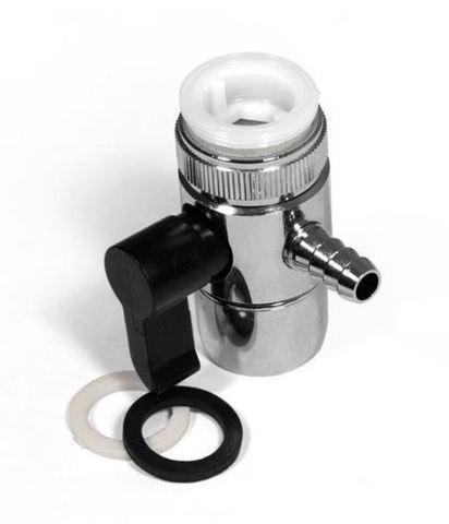 Переходник на кран универсальный (с переключателем) Dтрубки= 10 мм