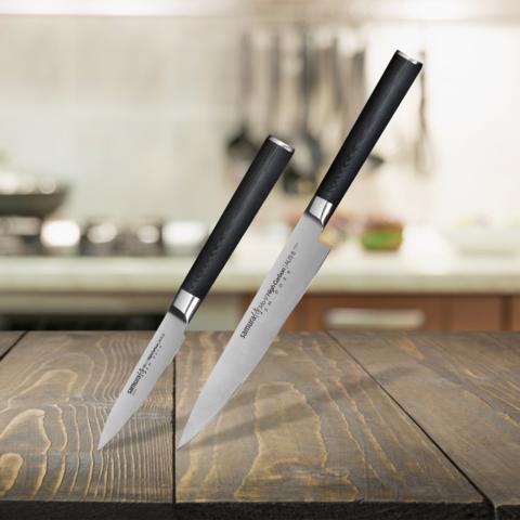 Набор из 2-х ножей Samura MO-V (10, 23)
