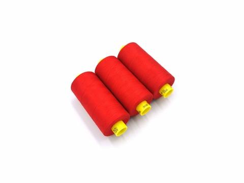 Нитки, Gutermann, MARA-120, красные (алые), 1000 м, шт