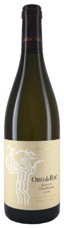 Вино Ор де Рак Шардоне Резерв сухое белое защищ.географ.указ. регион Свартлэнд 0,75л.