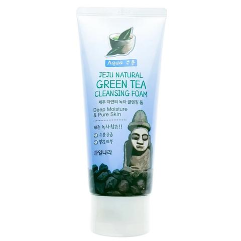 Пенка для умывания Welcos с экстрактом зеленого чая 120 гр