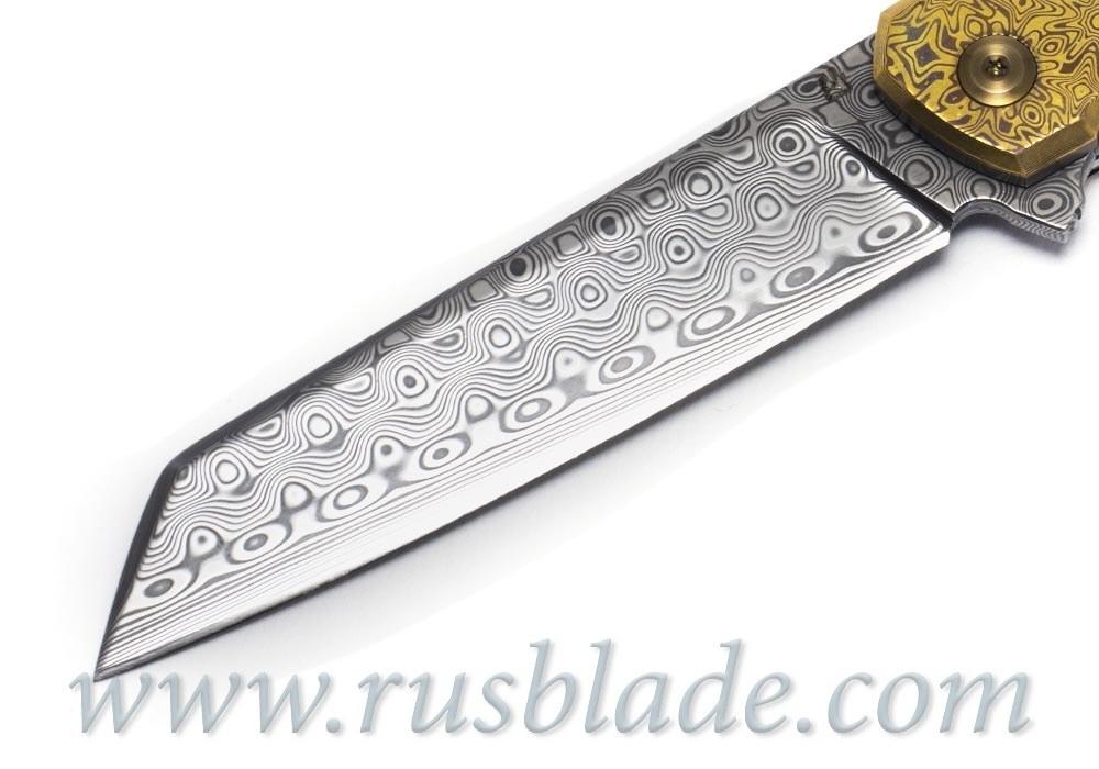 Cheburkov Full Custom Dragon Damascus Mokume One-Off - фотография