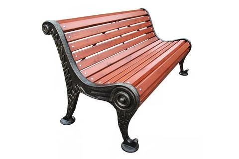 Скамейка чугунная «Весенняя»