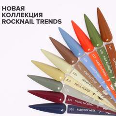 Гель-лак RockNail Trends 537 Made in China