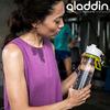 Картинка фляга туристическая Aladdin Active 0,8L Синяя - 4