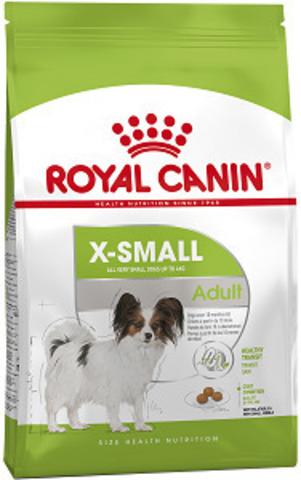 Royal Canin X-small Adult сухой корм для собак миниатюрных пород от 10 месяцев до 8 лет
