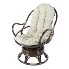 Кресло механическое из ротанга Vinotti Торнадо Браун