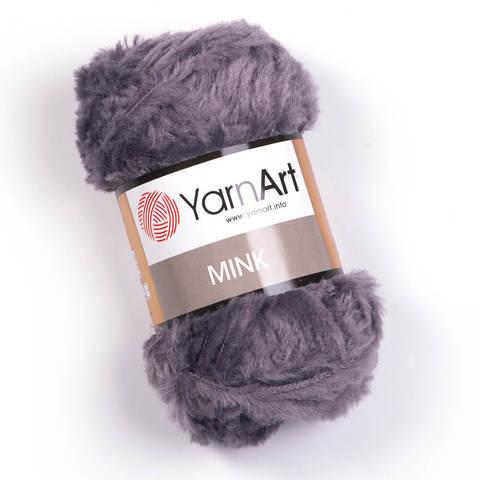 Пряжа YarnArt Mink 335 серо-голубой