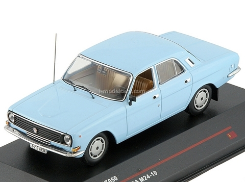 GAZ-M24-10 Volga light blue 1985 IST050 IST Models 1:43