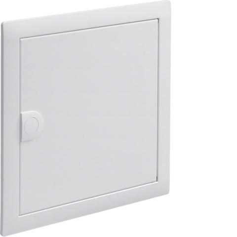 Наружная рамка с дверцей,Volta,1-рядный RAL9010