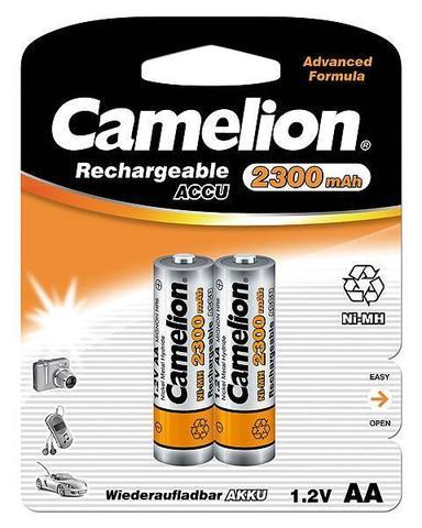 Аккумуляторы CAMELION R 6/2bl 2300 mAh Ni-MH