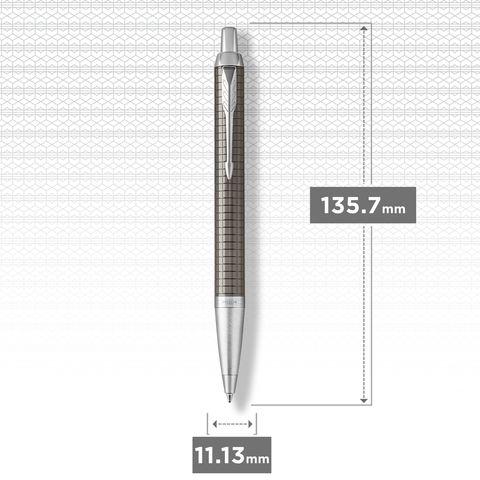 Шариковая ручка Parker IM Premium Royal Dark Espresso CT123