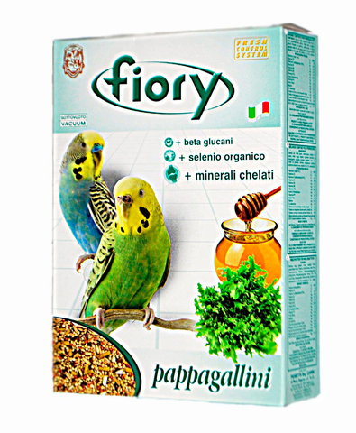 FIORY корм для волнистых попугаев Pappagalini 400 г