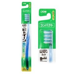 Зубная щетка Lion с прозрачной ручкой жесткая