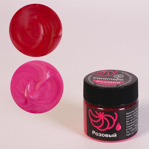 Краситель сухой жирораст. Caramella Розовый 5 гр