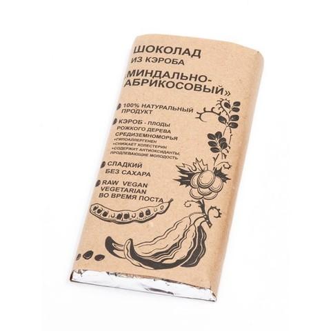 Шоколад из кэроба Миндально-абрикосовый 100г БК Урожай