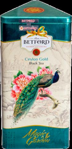 Чай черный Betford Magic garden Павлин подарочный набор, 300 г