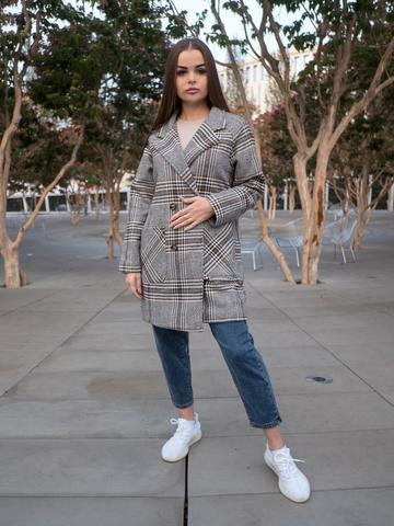 Короткое осеннее пальто женское оптом