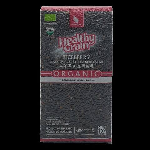 Органический черный жасминовый рис SAWAT-D, 1 кг