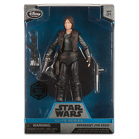 Звездные войны Die Cast фигурка Джин Эрсо — Star Wars Jyn Erso
