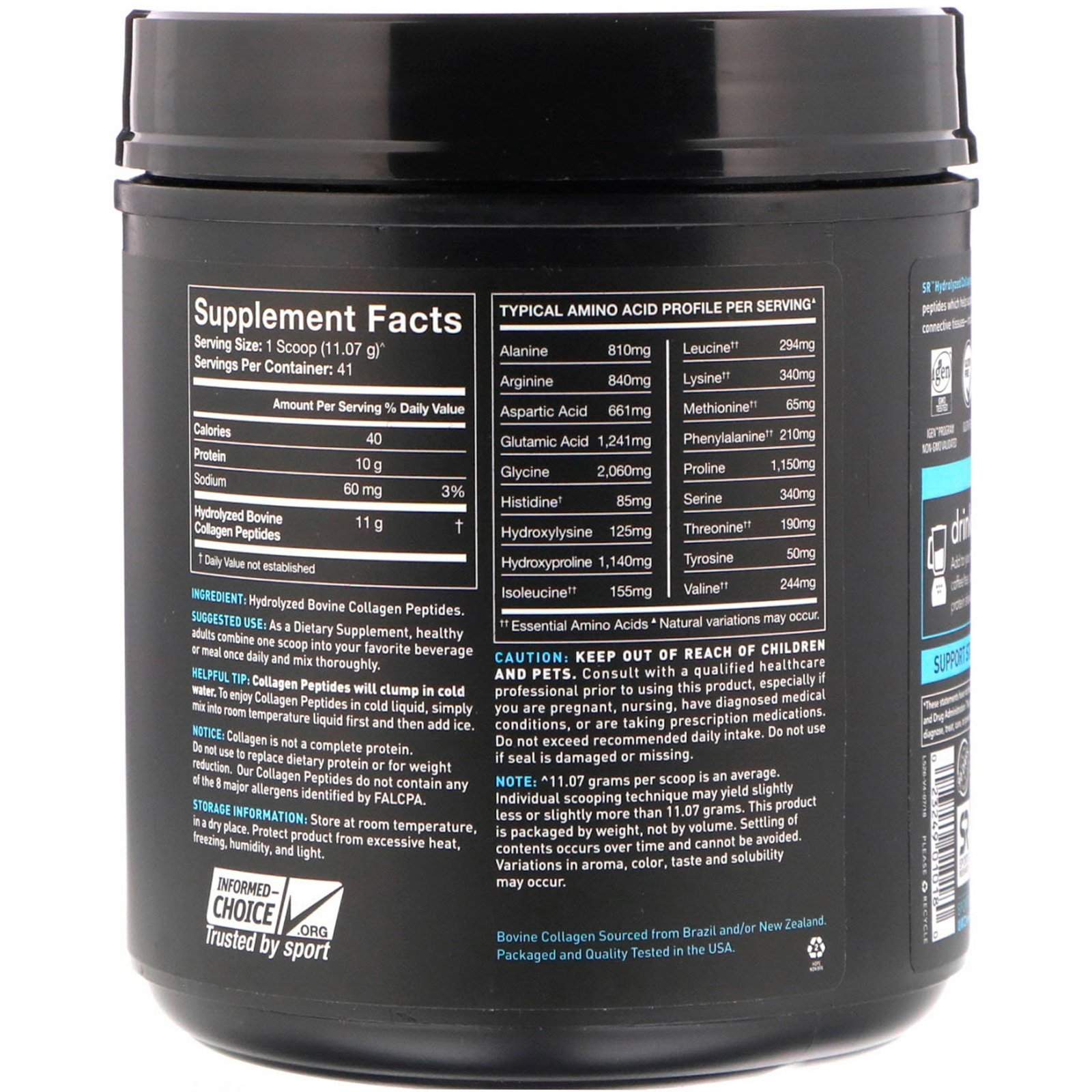 Sports-Research-Collagen-Peptides-Unflavored-16-oz-454-g-2