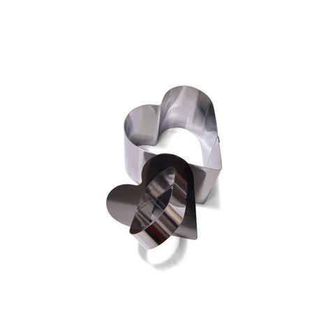 Кулинарное кольцо 7,5x6,8x5,5 см в форме сердца Fissman 6777
