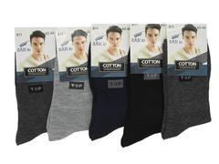 811 носки мужские 42-48 (12шт), цветные