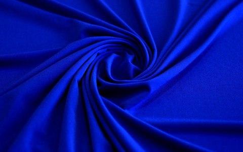 Трикотаж Масло, цвет синий