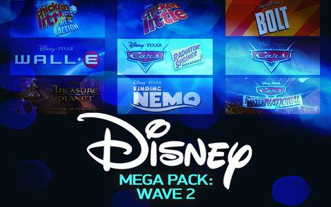 Disney Mega Pack : Wave 2 (для ПК, цифровой ключ)