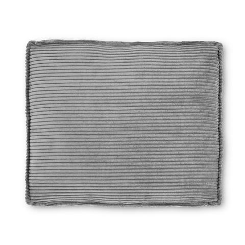 Подушка Blok 60x70см серая