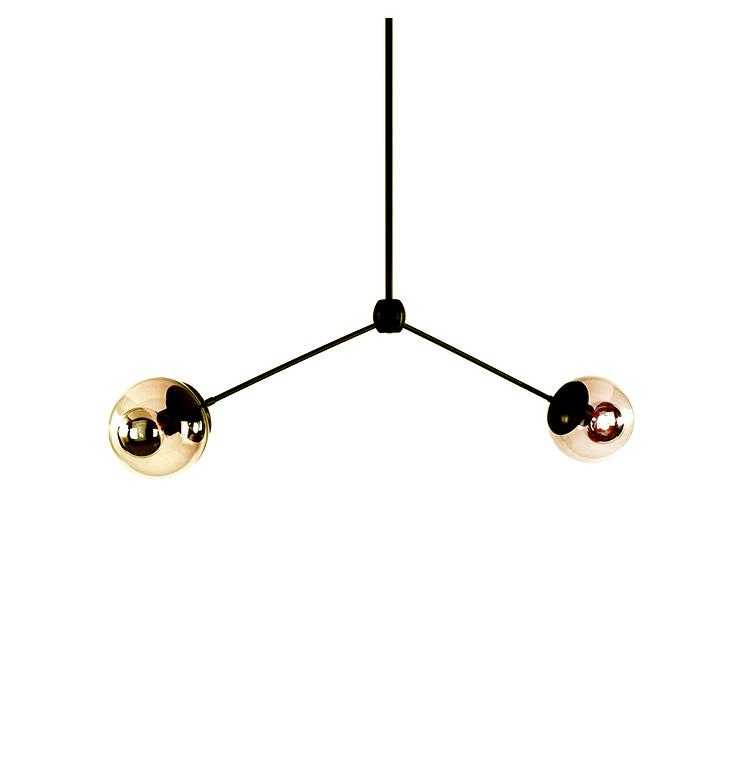 Потолочный светильник  копия Modo by Roll & Hill (2 плафона)