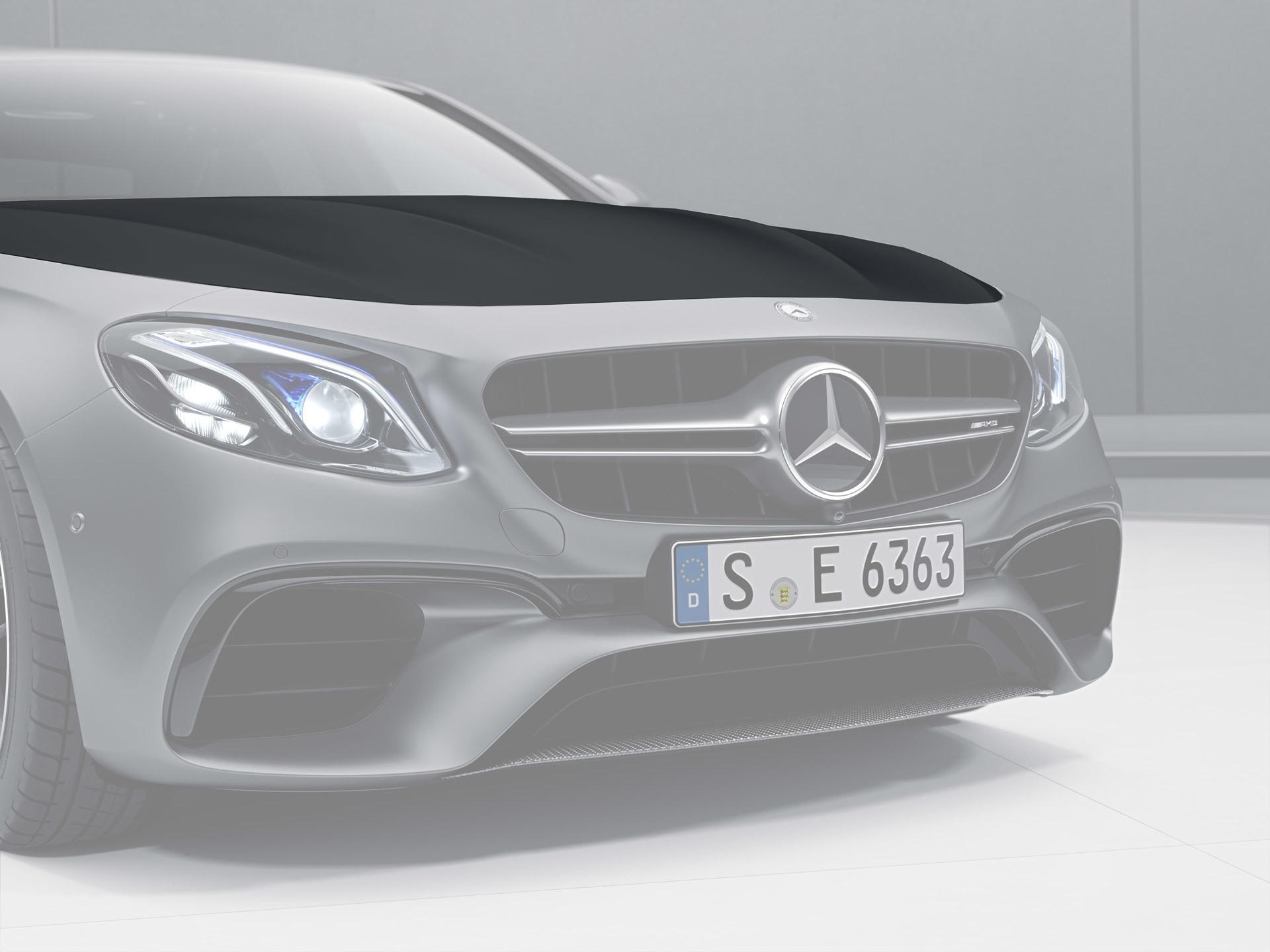Карбоновый капот 63 AMG Style для Mercedes E-class W213
