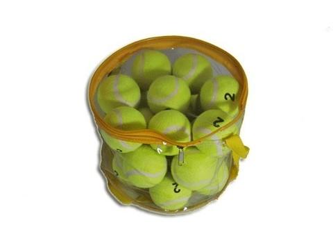 Мяч для б/т (24 шт. в сумочке на молнии) 2сорт. :(ТО242):