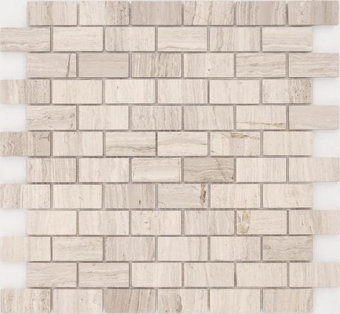 Мозаика Travertino Silver POL 23x48x4 298х298