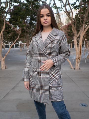 Короткое осеннее пальто женское nadya