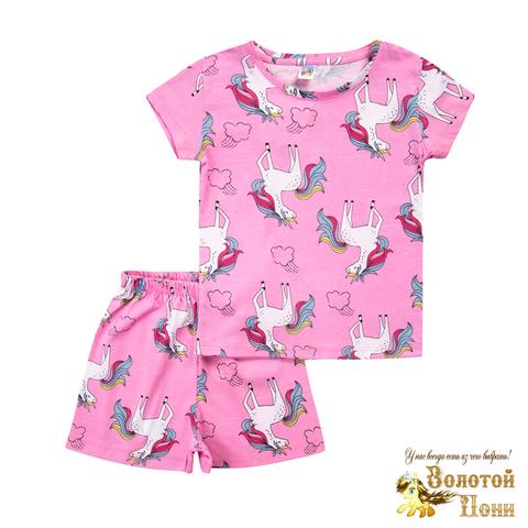 Пижама хлопок девочке (3-7) 210805-MD59057
